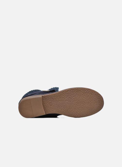 Stiefeletten & Boots Refresh Bijou-61677 blau ansicht von oben