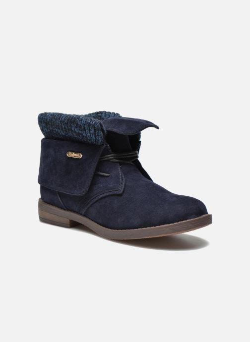 Bottines et boots Refresh Bijou-61677 Bleu vue détail/paire