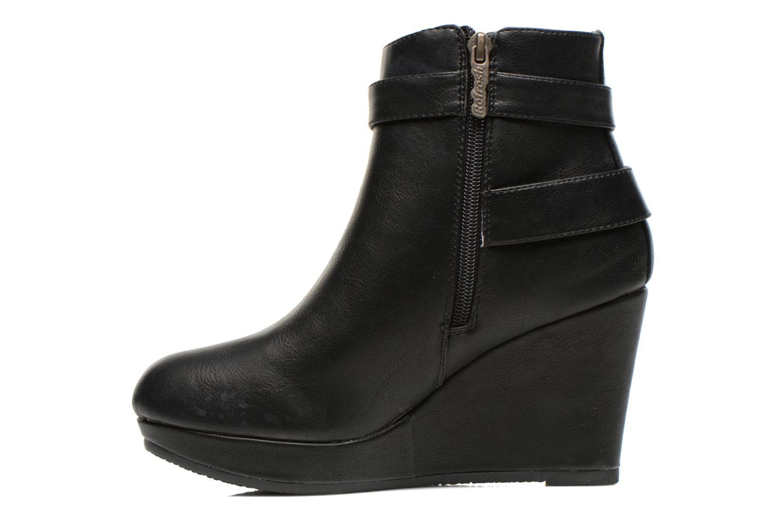 Bottines et boots Refresh Elfy-61110 Noir vue face