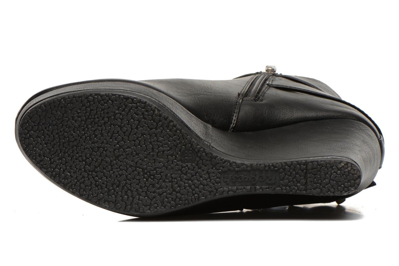 Bottines et boots Refresh Elfy-61110 Noir vue haut