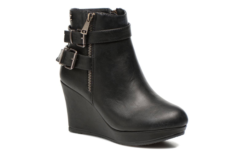 Bottines et boots Refresh Elfy-61110 Noir vue détail/paire