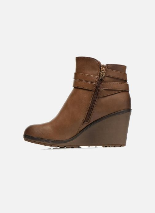 Ankle boots Xti Cornelie-28720 Brown front view