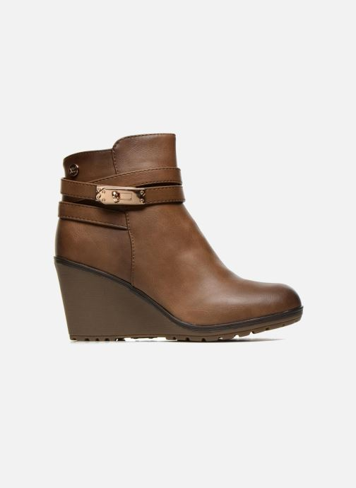 Ankle boots Xti Cornelie-28720 Brown back view