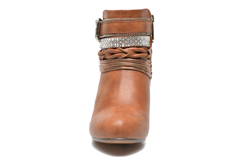 Bottines et boots Xti Doria-28813 Marron vue portées chaussures