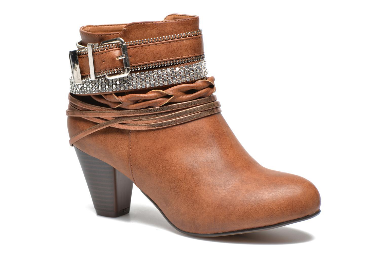 Bottines et boots Xti Doria-28813 Marron vue détail/paire