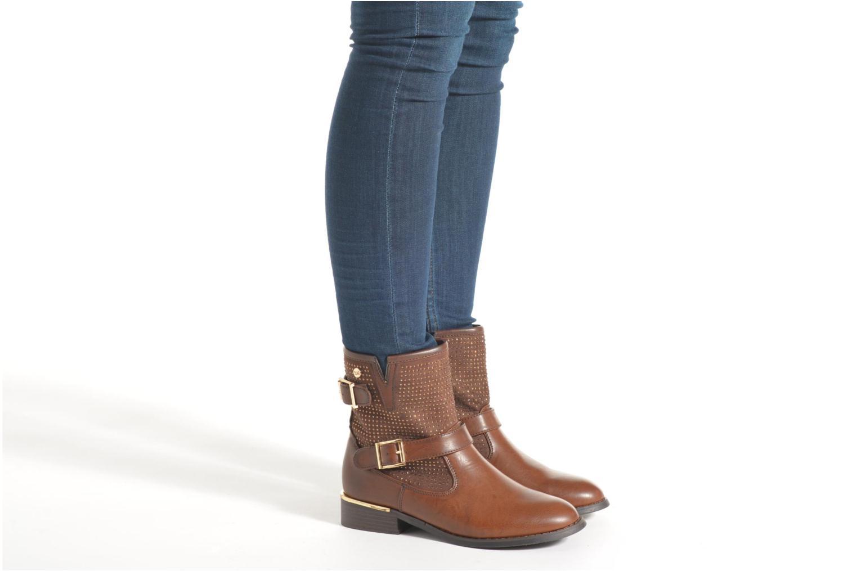 Bottines et boots Xti Ondine-28503 Marron vue bas / vue portée sac