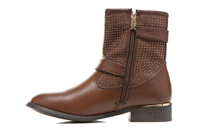 Bottines et boots Xti Ondine-28503 Marron vue face