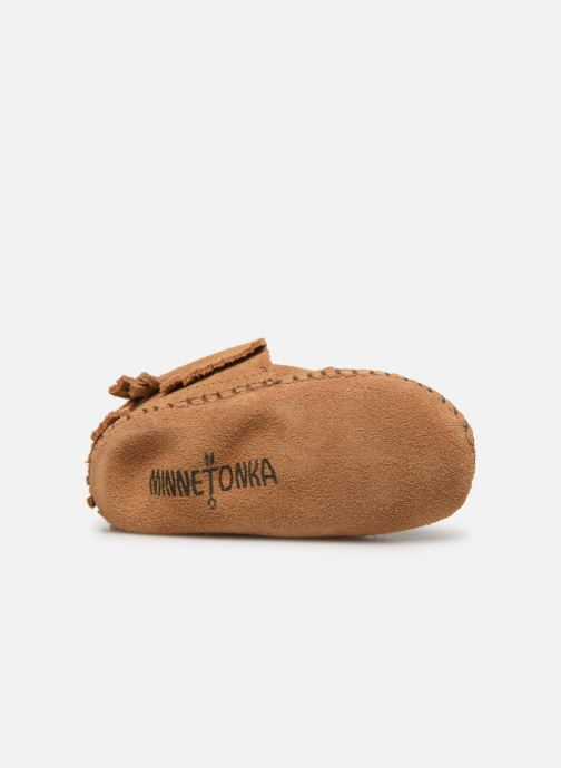 Slippers Minnetonka Riley Bootie Yellow view from above