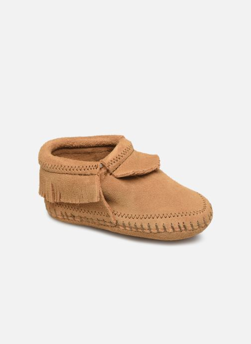 Pantofole Minnetonka Riley Bootie Giallo vedi dettaglio/paio