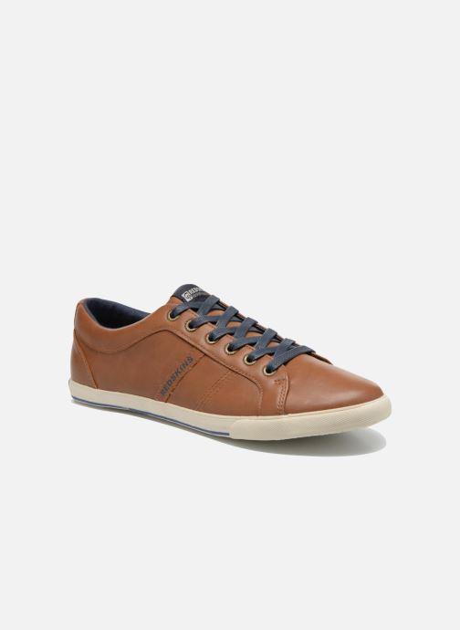 Sneakers Redskins Tipazul Brun detaljeret billede af skoene