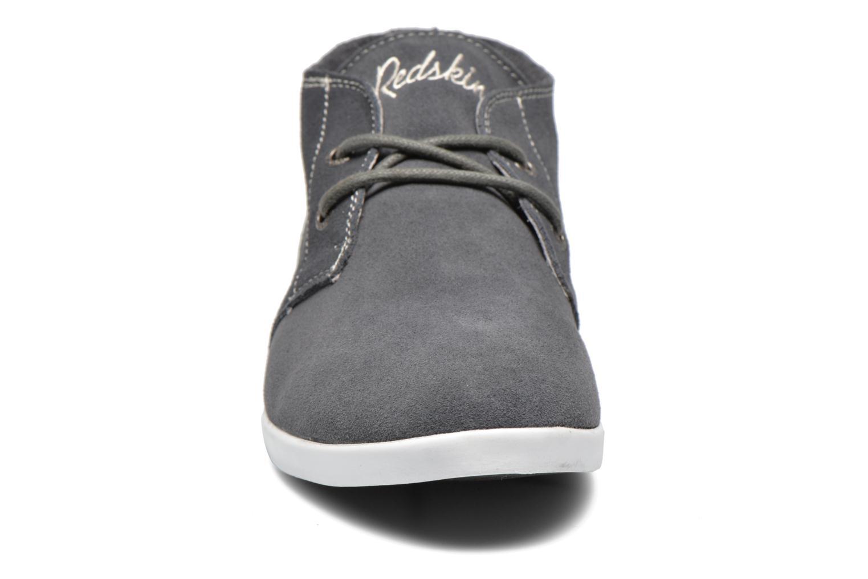 Baskets Redskins Zipper Gris vue portées chaussures