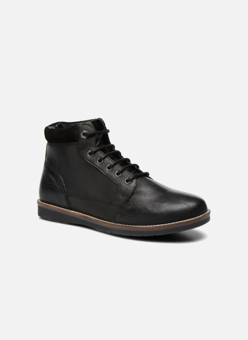 Boots en enkellaarsjes Redskins Babylone Zwart detail