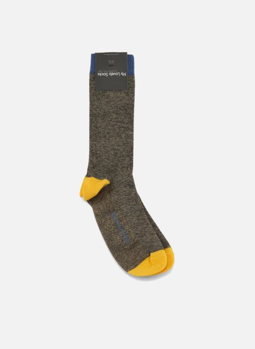 Calze e collant My Lovely Socks Victor Verde immagine posteriore