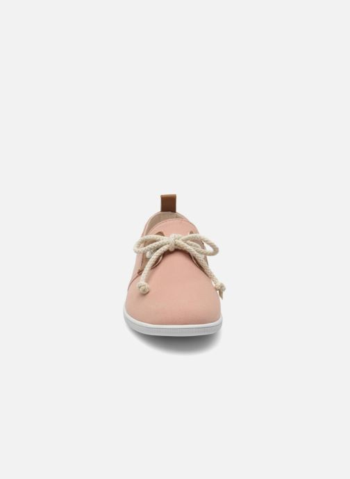Baskets Armistice Stone One Twill W Rose vue portées chaussures