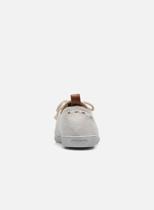 Sneaker Armistice Stone One Twill W weiß ansicht von rechts