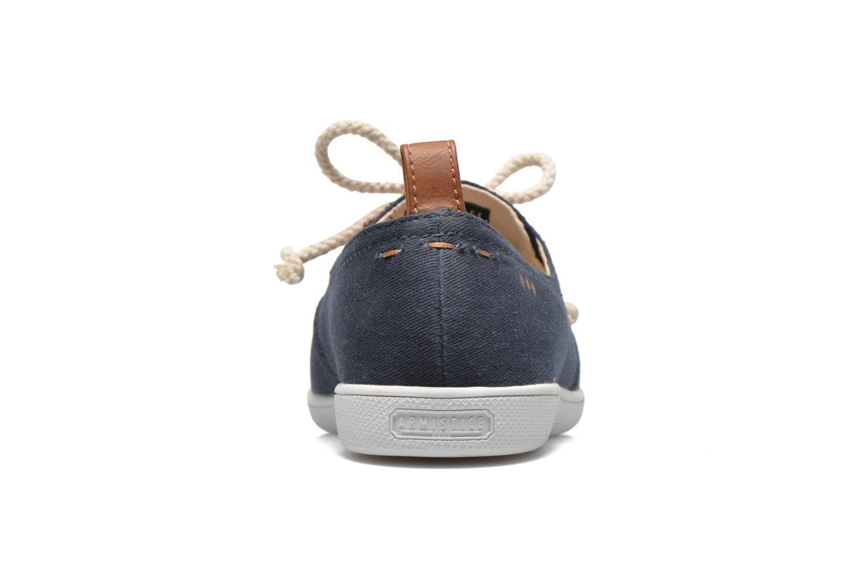 Baskets Armistice Stone One Twill W Bleu vue droite
