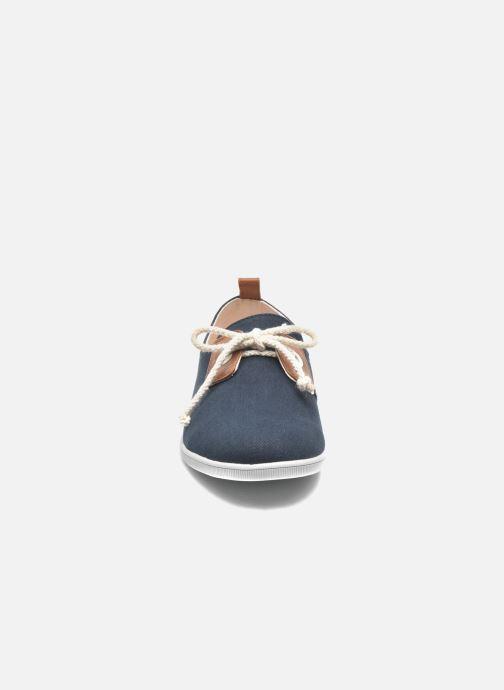 Baskets Armistice Stone One Twill M Bleu vue portées chaussures