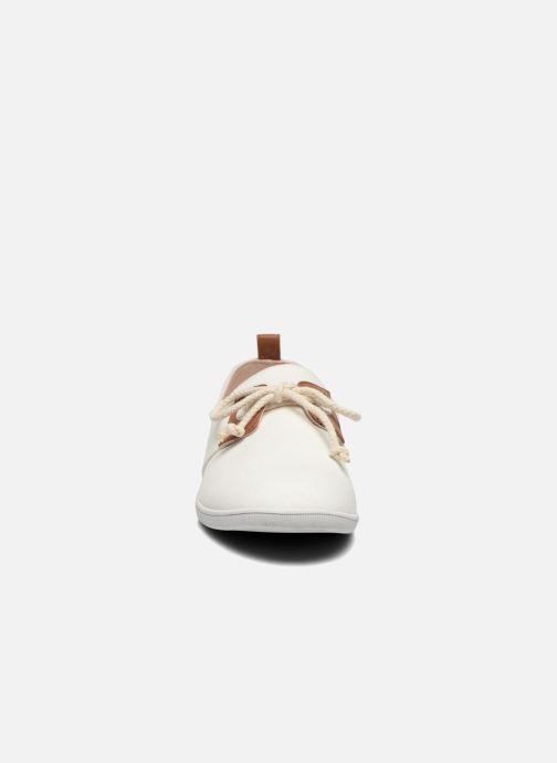 Baskets Armistice Stone One Twill M Blanc vue portées chaussures