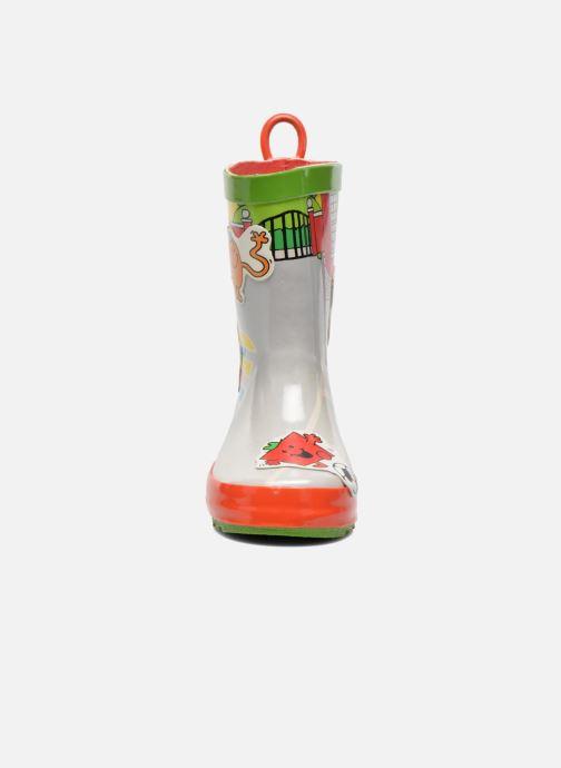 Bottes Be Only Mr Mme School Multicolore vue portées chaussures