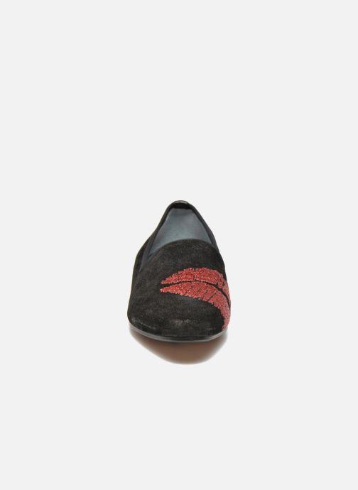Mocassins Apologie Bisous Noir vue portées chaussures