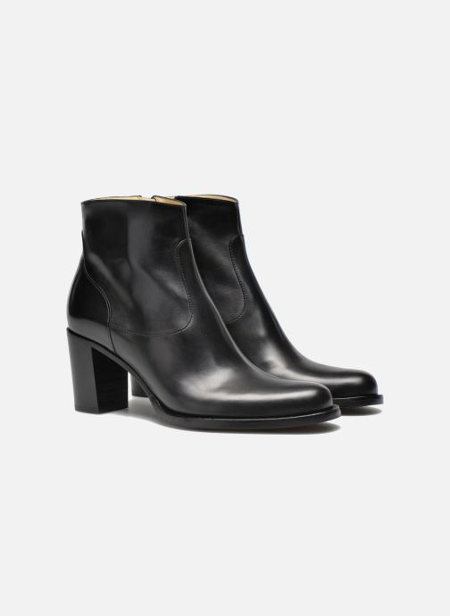 Bottines et boots Free Lance Legend 7 low zip boot Noir vue 3/4