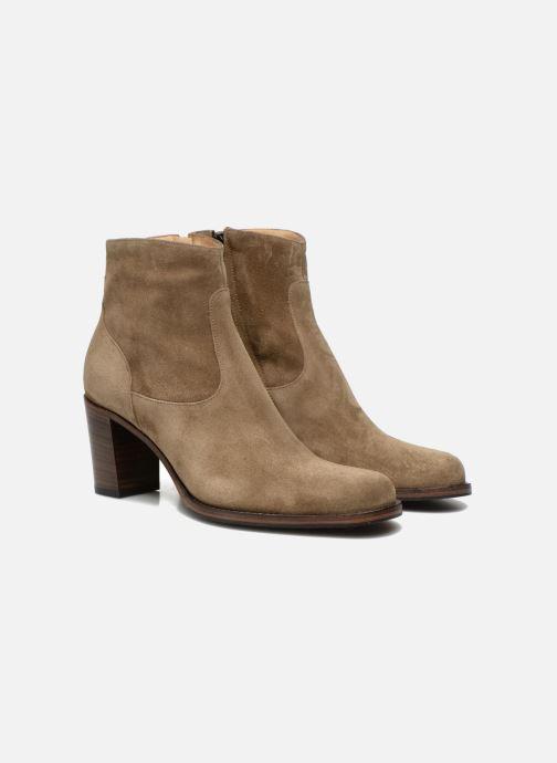 Bottines et boots Free Lance Legend 7 low zip boot Beige vue 3/4