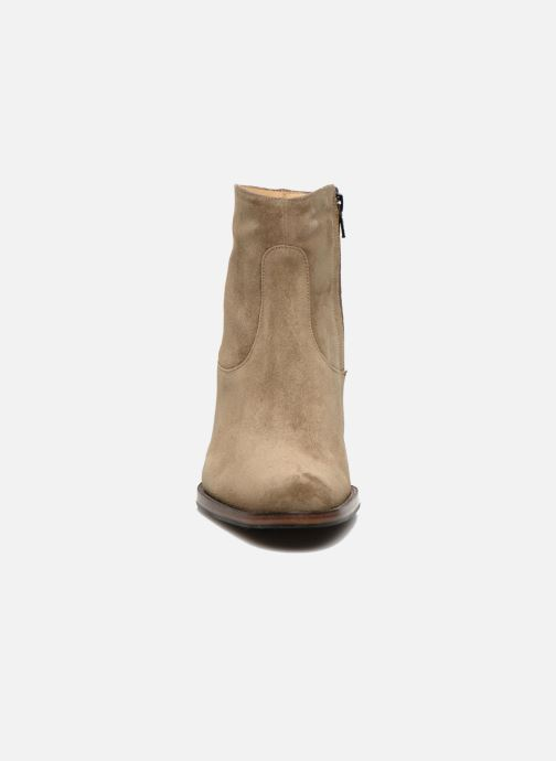 Stiefeletten & Boots Free Lance Legend 7 low zip boot beige schuhe getragen