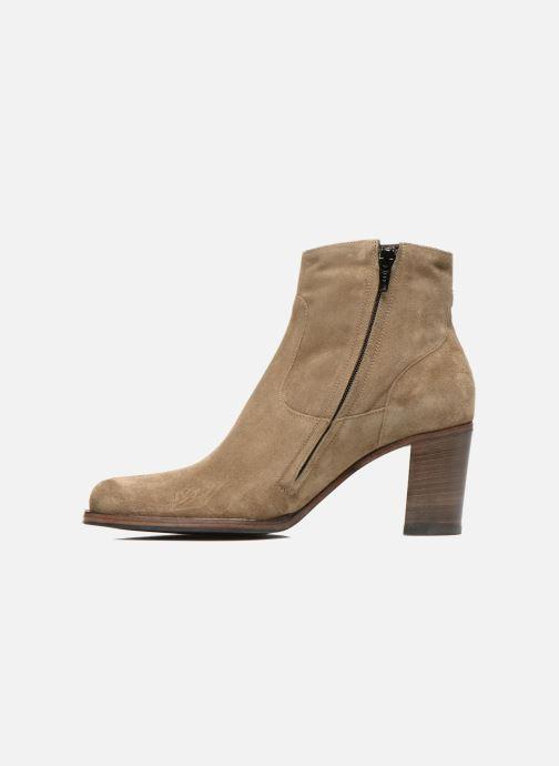 Stiefeletten & Boots Free Lance Legend 7 low zip boot beige ansicht von vorne