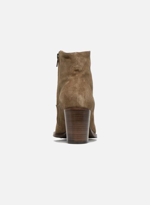 Bottines et boots Free Lance Legend 7 low zip boot Beige vue droite
