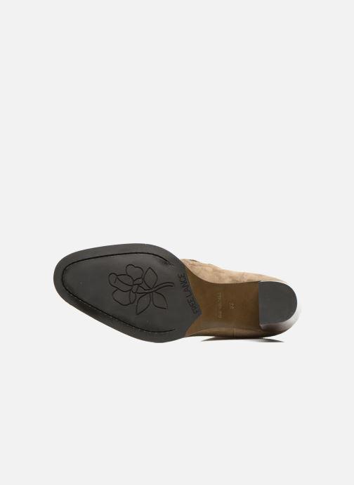 Stiefeletten & Boots Free Lance Legend 7 low zip boot beige ansicht von oben