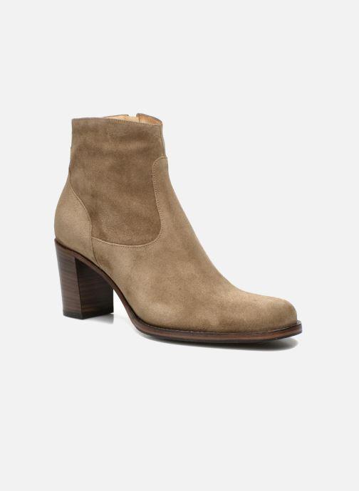 Stiefeletten & Boots Free Lance Legend 7 low zip boot beige detaillierte ansicht/modell