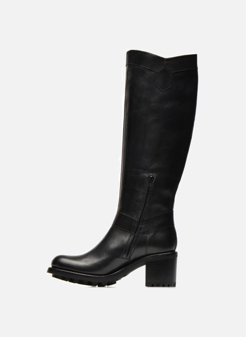 Boots & wellies Free Lance Biker 7 hight botte line Black front view