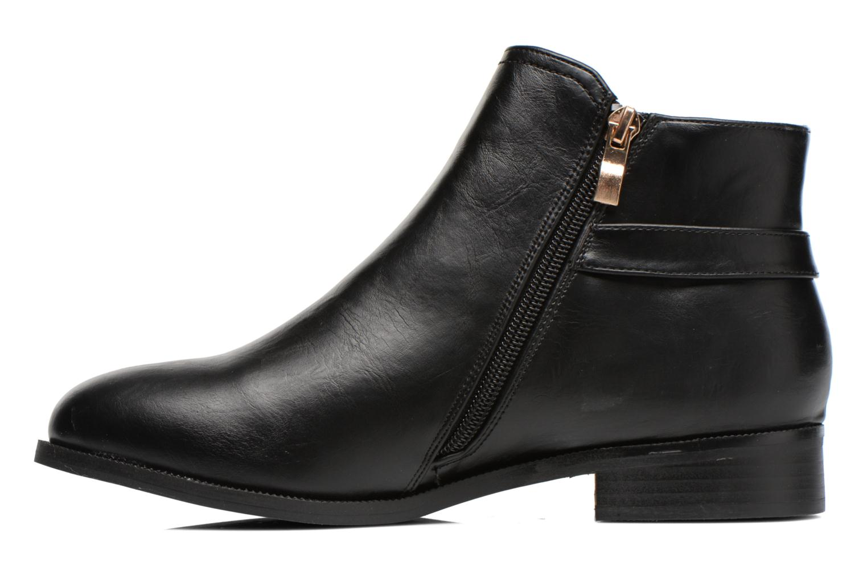 Bottines et boots Divine Factory Tyson Noir vue face
