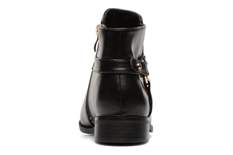 Bottines et boots Divine Factory Tyson Noir vue droite