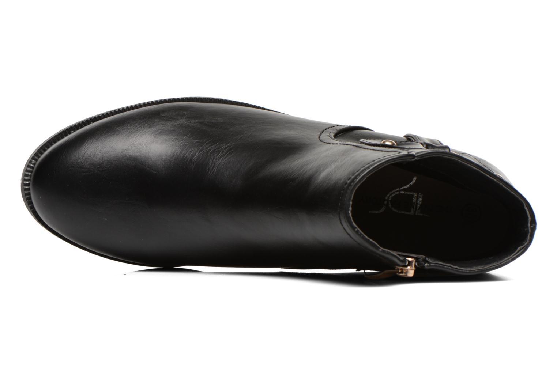 Bottines et boots Divine Factory Tyson Noir vue gauche