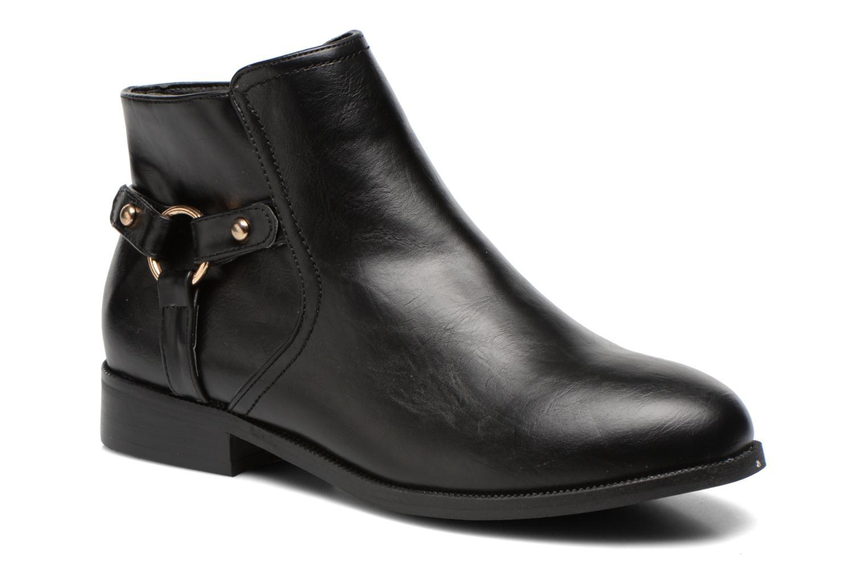 Bottines et boots Divine Factory Tyson Noir vue détail/paire