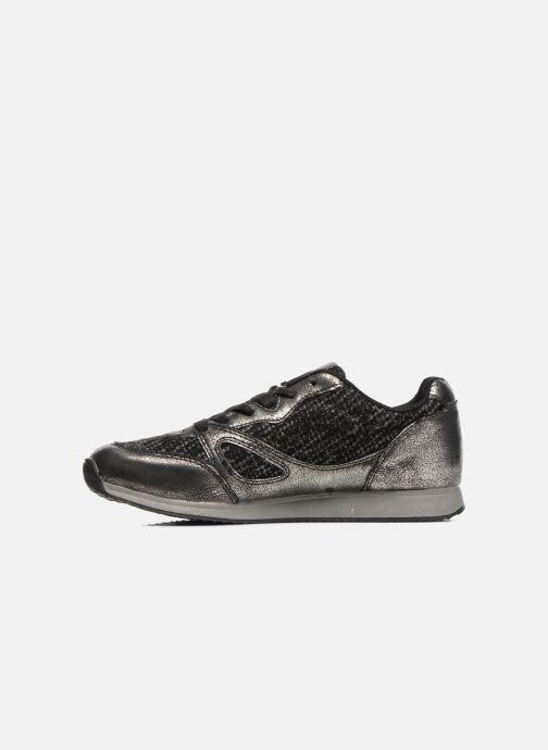 Sneakers Divine Factory Aram Zwart voorkant