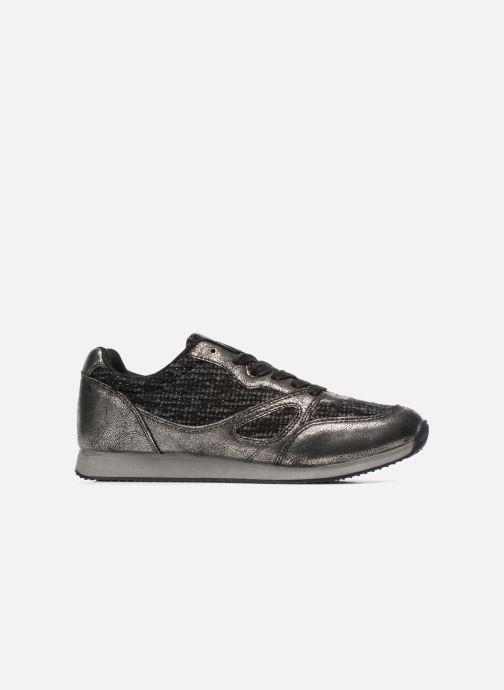 Sneakers Divine Factory Aram Zwart achterkant
