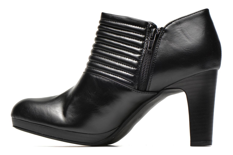 Bottines et boots Divine Factory Tissa Noir vue face