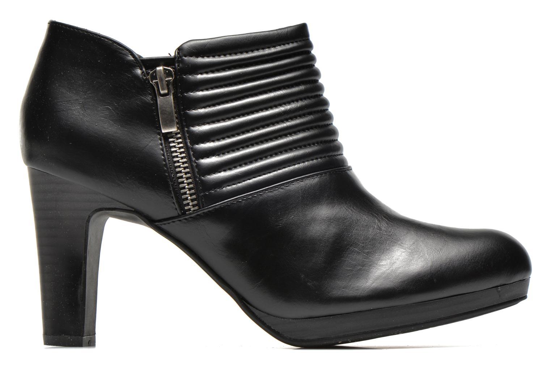 Bottines et boots Divine Factory Tissa Noir vue derrière