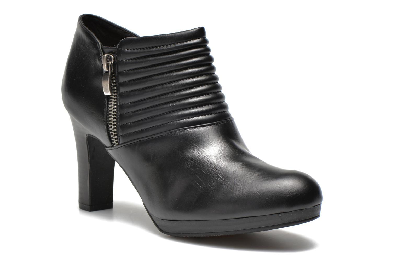 Bottines et boots Divine Factory Tissa Noir vue détail/paire