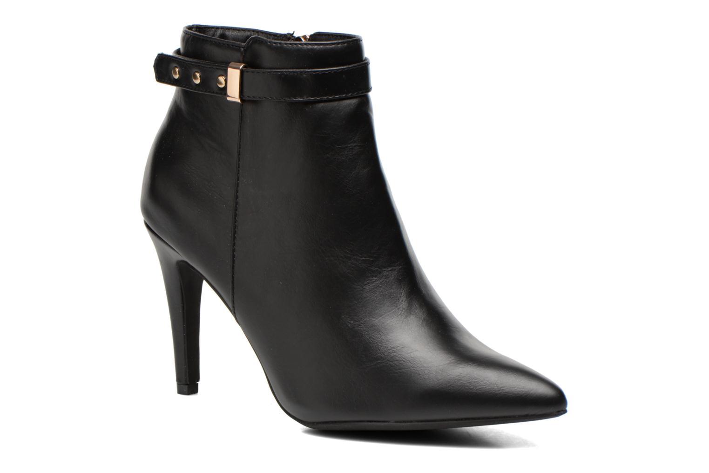 Ankelstøvler Divine Factory Potchi Sort detaljeret billede af skoene