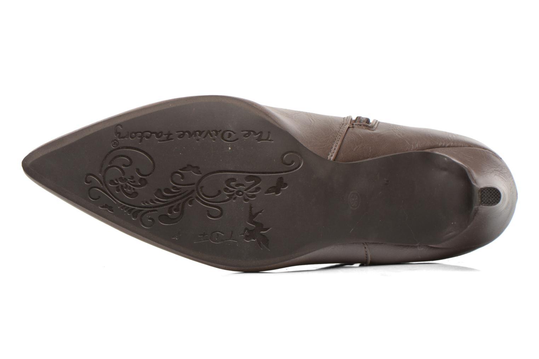 Ankelstøvler Divine Factory Potchi Brun se foroven