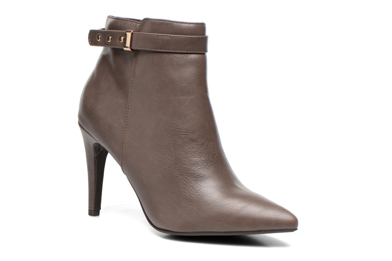 Ankelstøvler Divine Factory Potchi Brun detaljeret billede af skoene