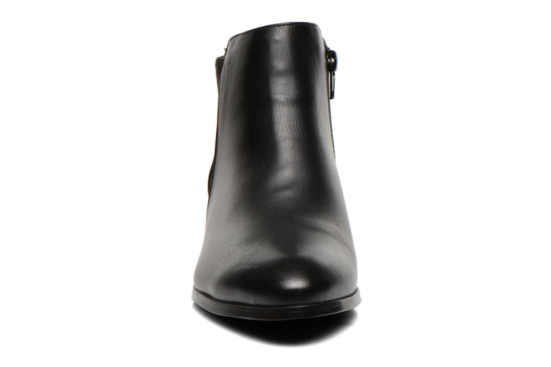 Bottines et boots Divine Factory Statch Noir vue portées chaussures