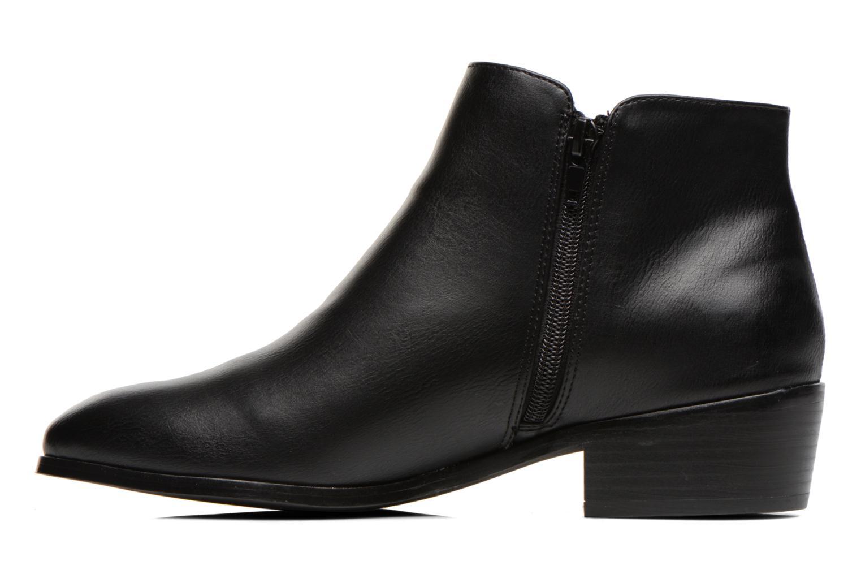 Bottines et boots Divine Factory Statch Noir vue face
