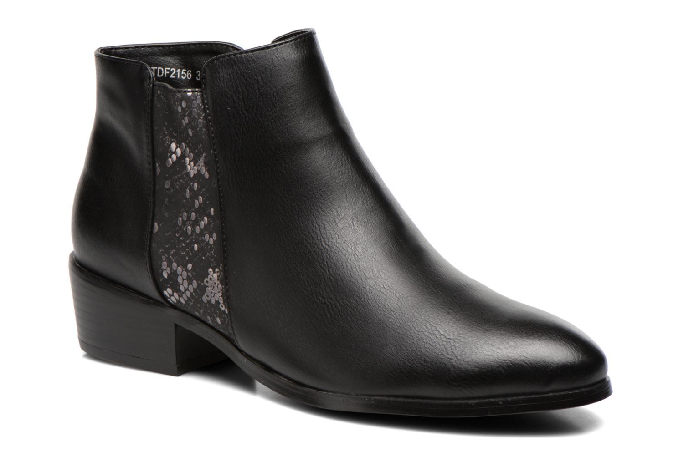 Bottines et boots Divine Factory Statch Noir vue détail/paire