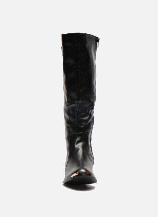 Bottes Divine Factory Katchi Noir vue portées chaussures