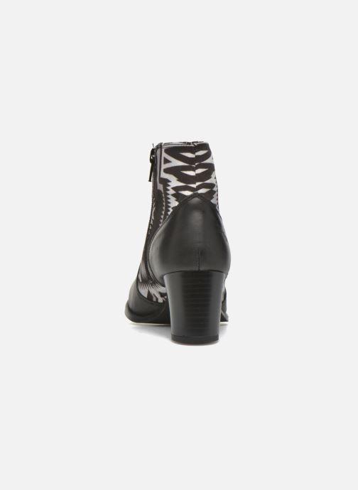 Boots en enkellaarsjes Desigual Cris Zwart rechts