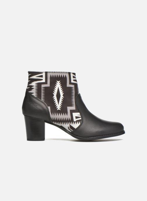 Boots en enkellaarsjes Desigual Cris Zwart achterkant
